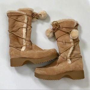 Report Saint Suede Faux Fur Boot
